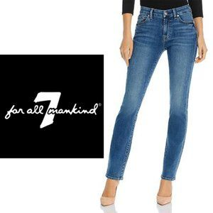 7 For All Mankind Kimmie Straight Leg Jeans - Size 29